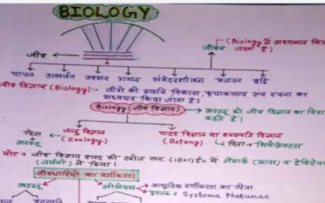 biology handwritten notes